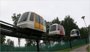 Pod Cars picture from NY Times